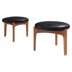 Danish Pair of Stools by Sven Ellekaer, 1960s