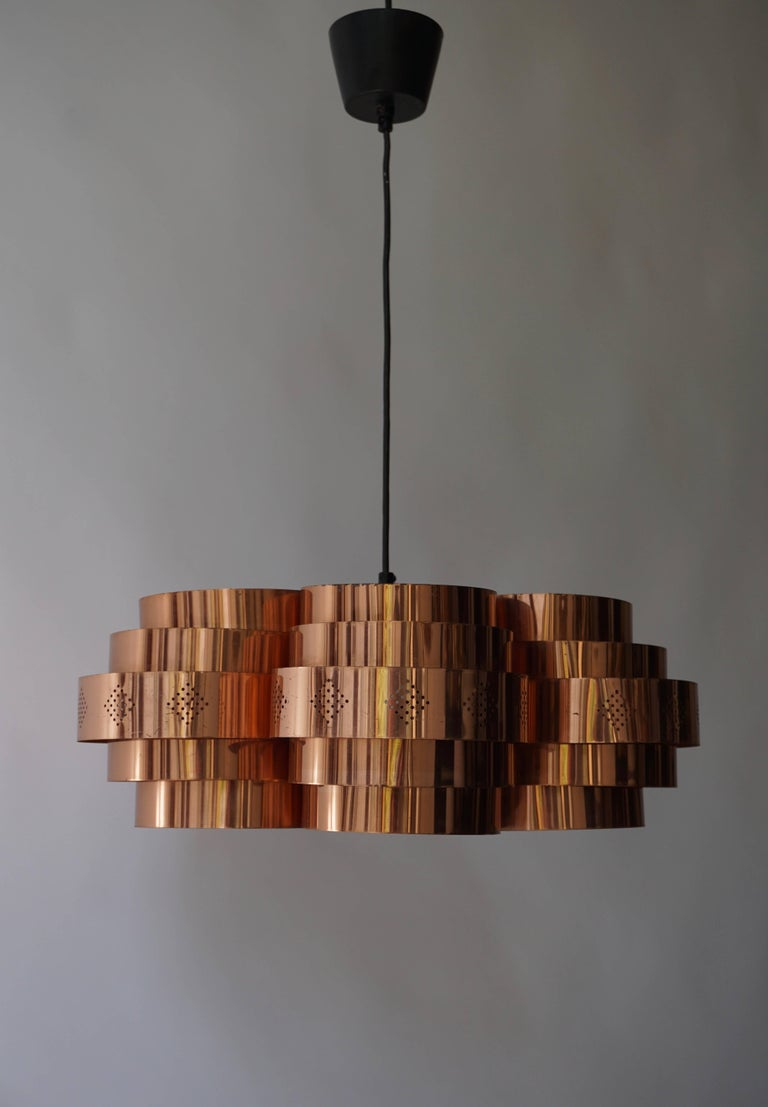 Danish Pendant by Verner Schou for Coronell Elektr For Sale 5
