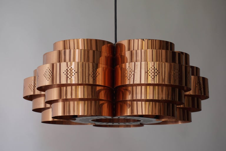 Danish Pendant by Verner Schou for Coronell Elektr For Sale 6