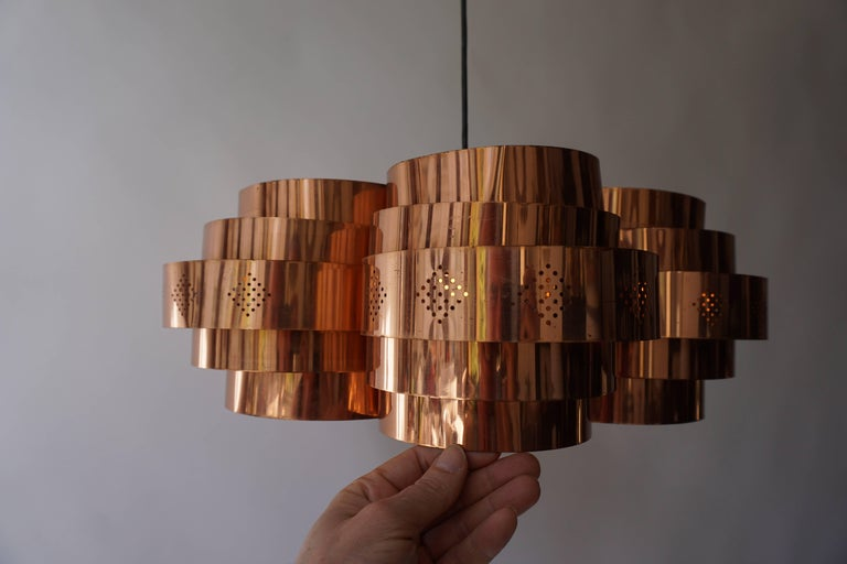Danish Pendant by Verner Schou for Coronell Elektr For Sale 7
