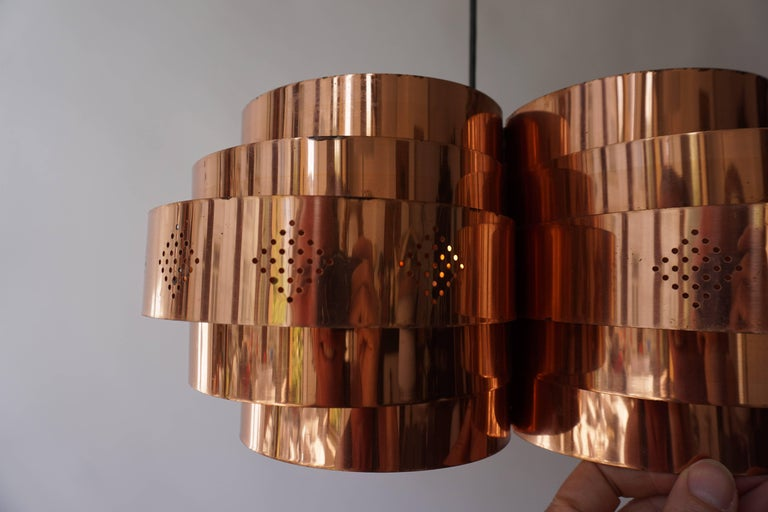Danish Pendant by Verner Schou for Coronell Elektr For Sale 12