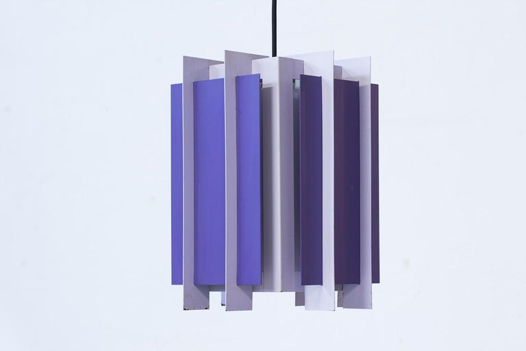Danish Pendant Lamp by Bent Karlby for Lyfa, 1960s 3