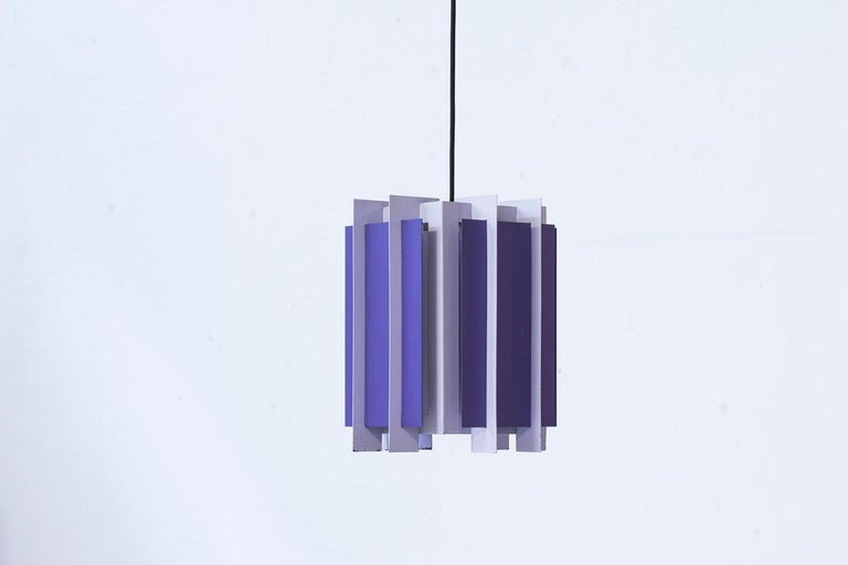 Danish Pendant Lamp by Bent Karlby for Lyfa, 1960s 5