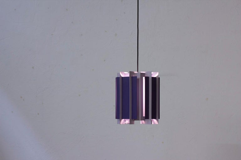 Danish Pendant Lamp by Bent Karlby for Lyfa, 1960s 1