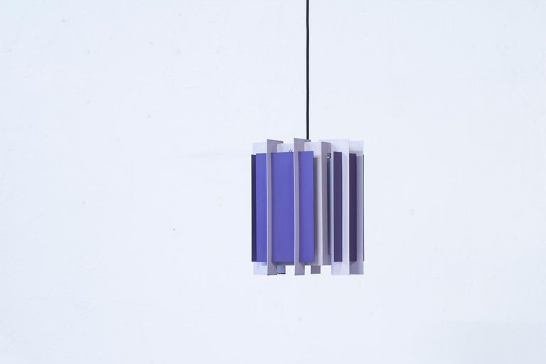 Danish Pendant Lamp by Bent Karlby for Lyfa, 1960s 2