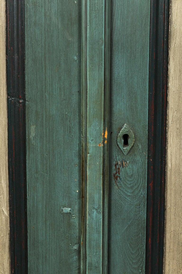 Gustavian Danish Pinewood Cupboard For Sale