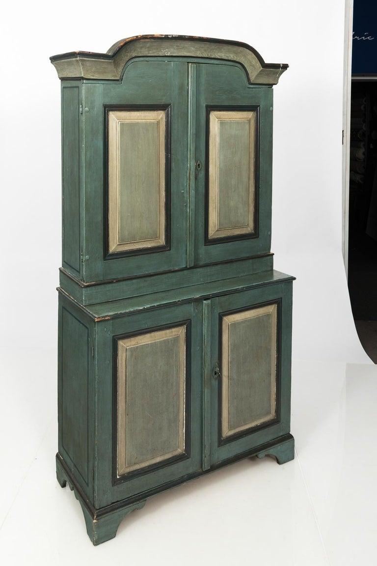 Wood Danish Pinewood Cupboard For Sale