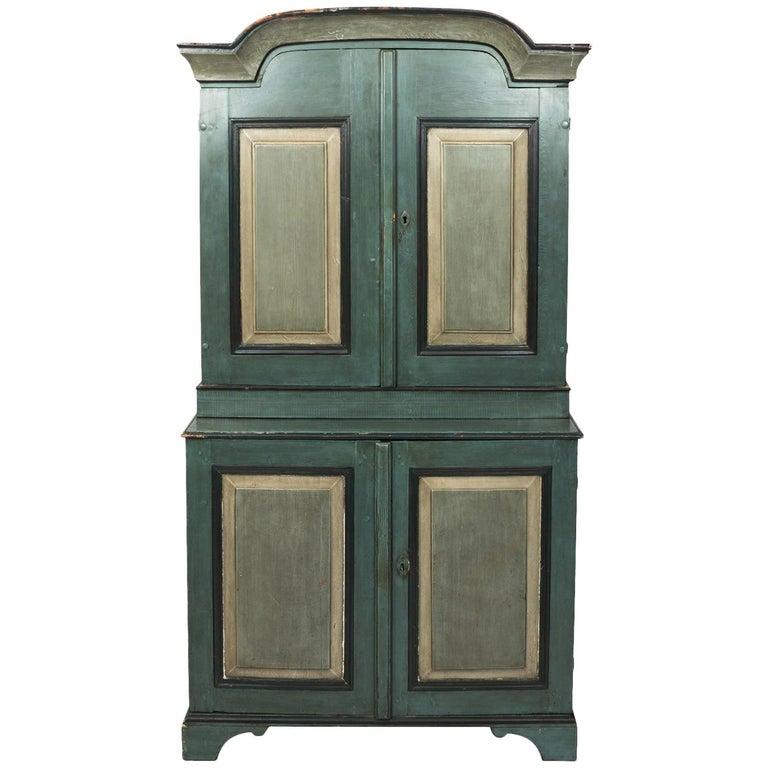 Danish Pinewood Cupboard For Sale