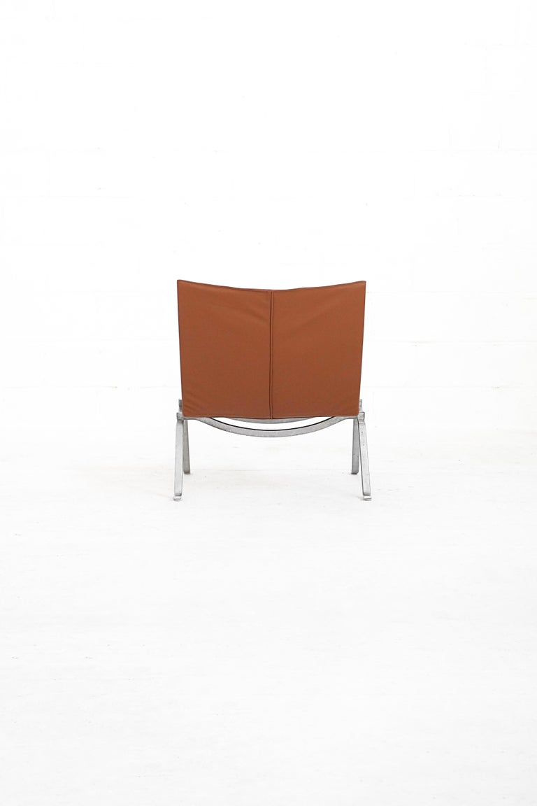 Mid-Century Modern Danish PK22 Lounge Chair by Poul Kjærholm for E. Kold Christiensen