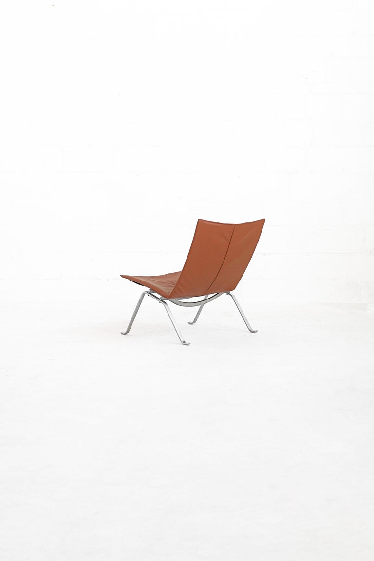Mid-20th Century Danish PK22 Lounge Chair by Poul Kjærholm for E. Kold Christiensen