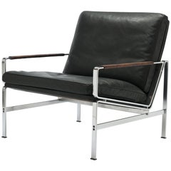Danish Preben Fabricius & Jørgen Kastholm Lounge Chair FK6720 Alfred Kill, 1965