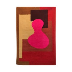 """Danish Rapsel Limited Edition """"Sydney"""" Rug by Claude Picasso Son of Pablo, 1990"""
