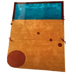 """Danish Rapsel Limited Edition """"Kuookabura"""" Rug by Claude Picasso Son of Pablo"""