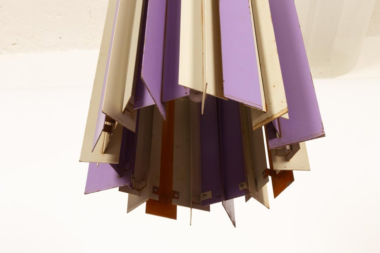 Danish Retro Ceiling Pendant by Lyfa, 1960s In Fair Condition For Sale In Nibe, Nordjylland