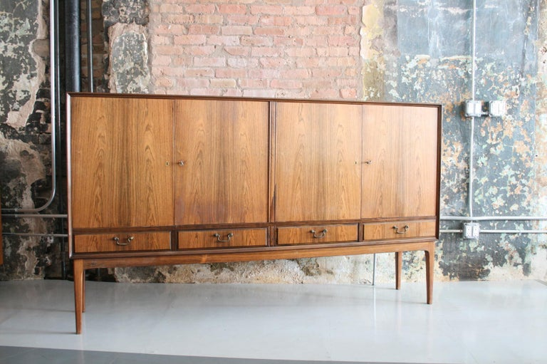 Danish Rosewood Credenza after Ole Wanscher, circa 1960s For Sale 1