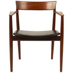 Danish Rosewood Armchair by Henry Rosengren Hansen for Brande Møbler 1960s