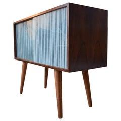 Danish Rosewood Bar Cabinet by Kai Kristiansen, 1960s