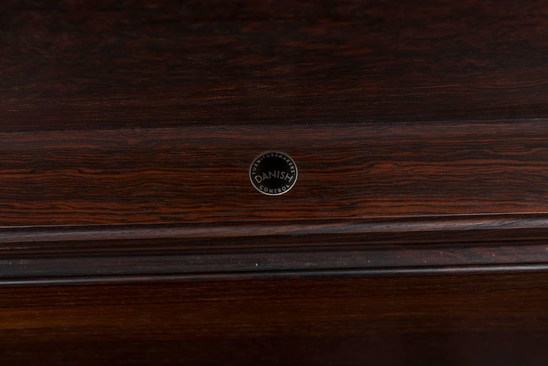 Danish Rosewood Bar Cabinet by Poul Norreklit For Sale 2