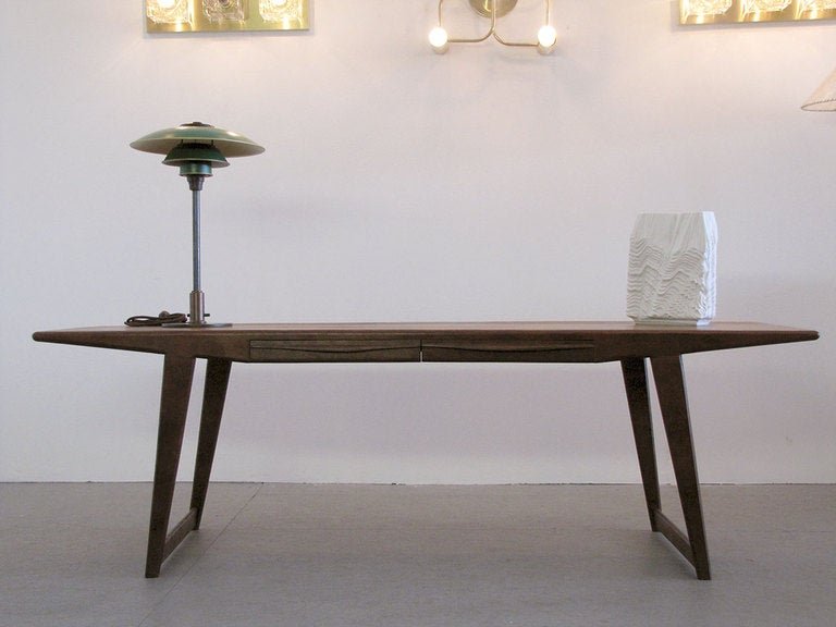 Danish Rosewood Coffee Table, 1950 For Sale 5
