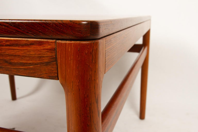 Danish Rosewood Coffee Table by Kurt Østervig, 1960s For Sale 5