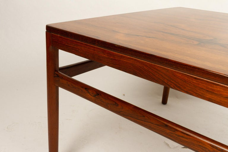 Danish Rosewood Coffee Table by Kurt Østervig, 1960s For Sale 6