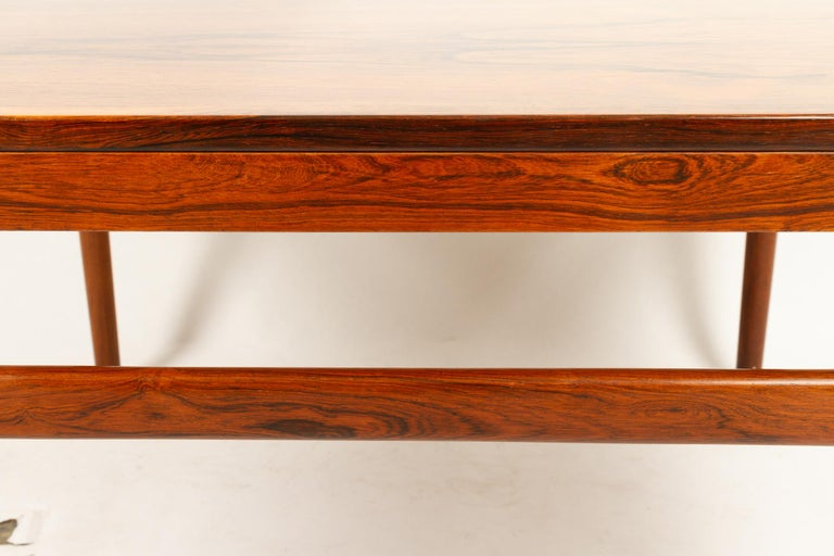 Danish Rosewood Coffee Table by Kurt Østervig, 1960s For Sale 8