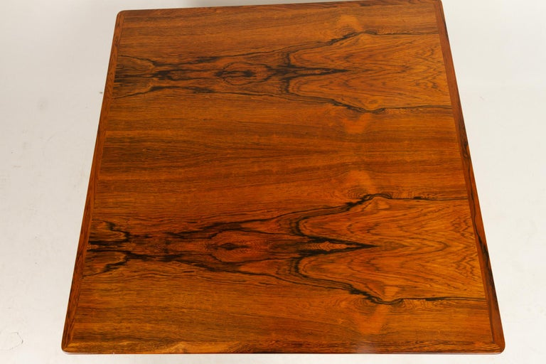 Danish Rosewood Coffee Table by Kurt Østervig, 1960s For Sale 9