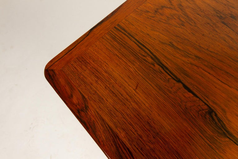 Danish Rosewood Coffee Table by Kurt Østervig, 1960s For Sale 10