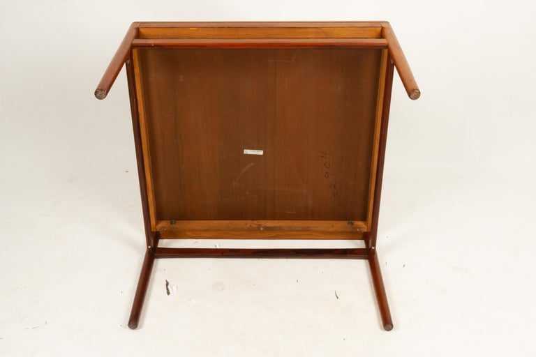 Danish Rosewood Coffee Table by Kurt Østervig, 1960s For Sale 11