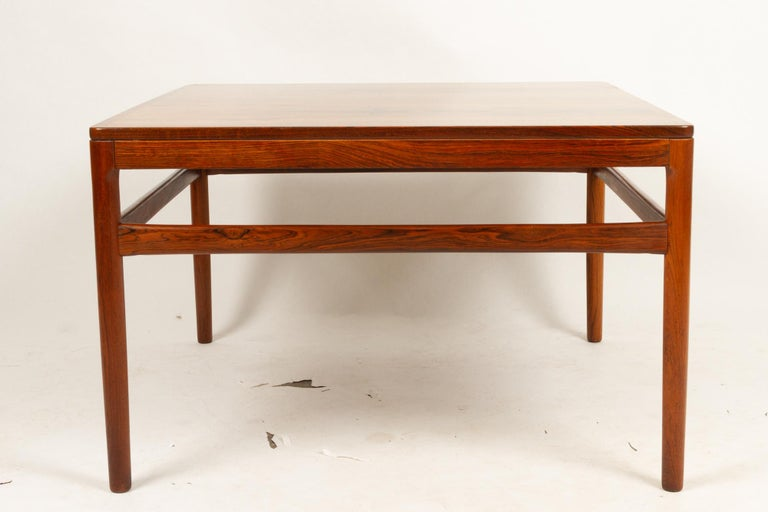 Mid-Century Modern Danish Rosewood Coffee Table by Kurt Østervig, 1960s For Sale