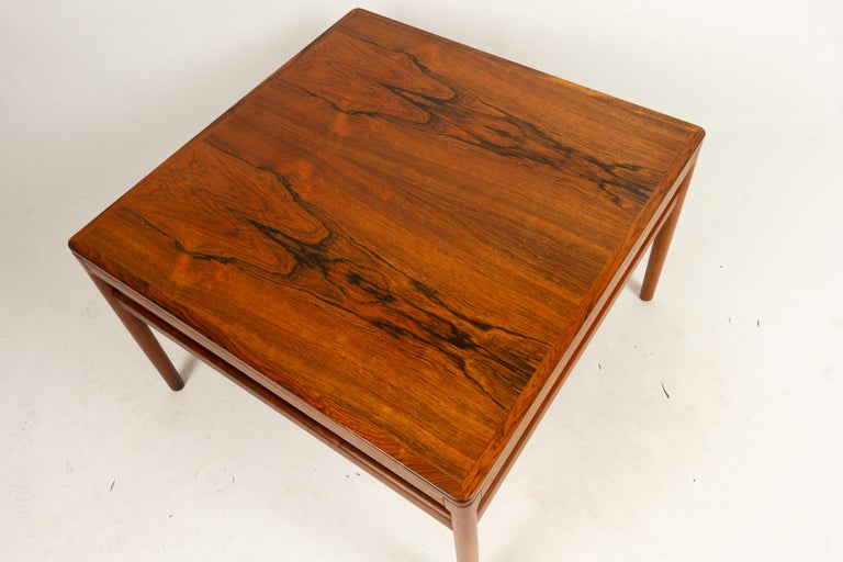 Danish Rosewood Coffee Table by Kurt Østervig, 1960s For Sale 2
