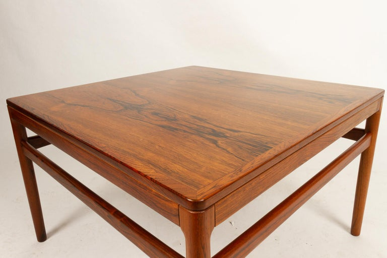 Danish Rosewood Coffee Table by Kurt Østervig, 1960s For Sale 3