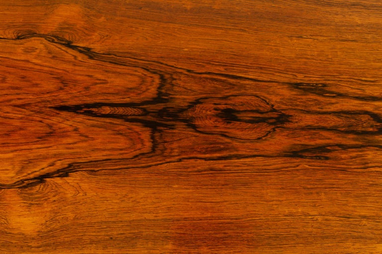 Danish Rosewood Coffee Table by Kurt Østervig, 1960s For Sale 4