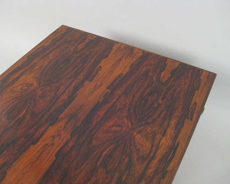 Danish Rosewood Coffee Table For Sale 3
