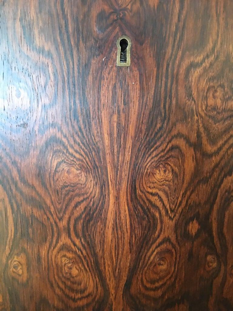 Danish Rosewood Corner Bar Cabinet For Sale 5