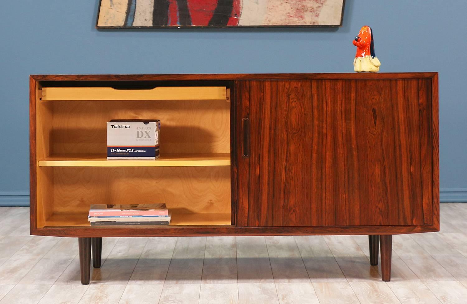Danish Credenza Los Angeles : Danish rosewood credenza by carlo jensen for hundevad and co at