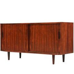 Danish Rosewood Credenza by Carlo Jensen for Hundevad & Co.