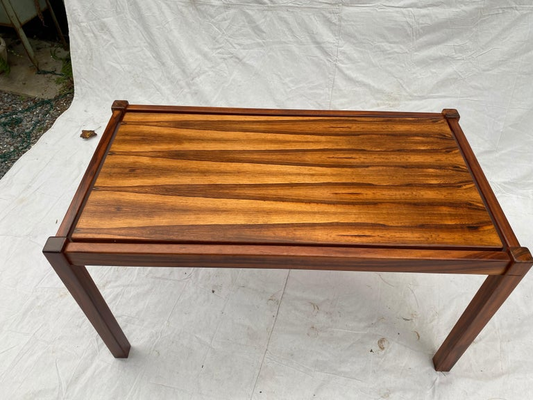 Danish Rosewood Desk/ Table In Good Condition For Sale In Philadelphia, PA