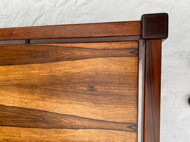 Danish Rosewood Desk/ Table For Sale 1