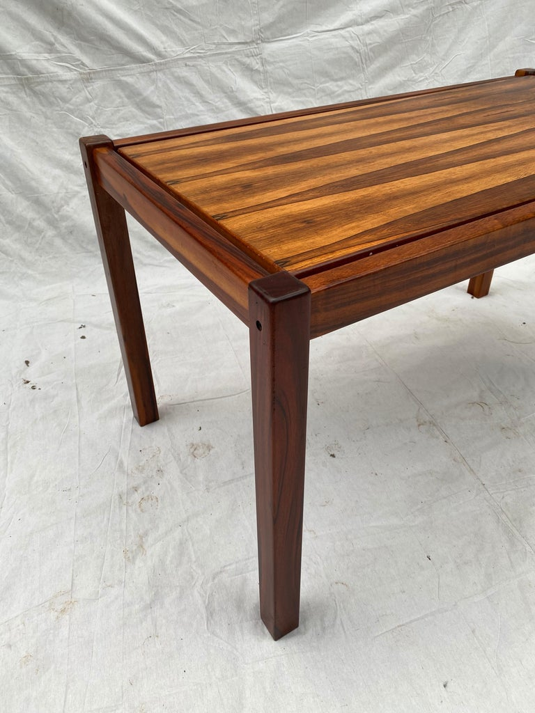 Danish Rosewood Desk/ Table For Sale 2