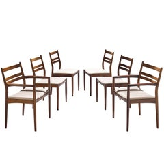 Danish Rosewood Dining Chairs, 1960s