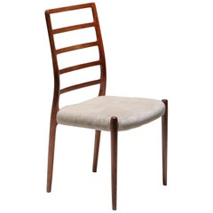 Danish Rosewood Dining Chairs, circa 1970 by Niels Møller