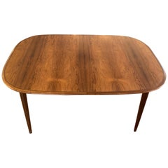 Danish Rosewood Dining Table by Hans Skovmand, circa 1960