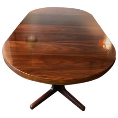 Danish Rosewood Dining Table Designed by Johannes Andersen