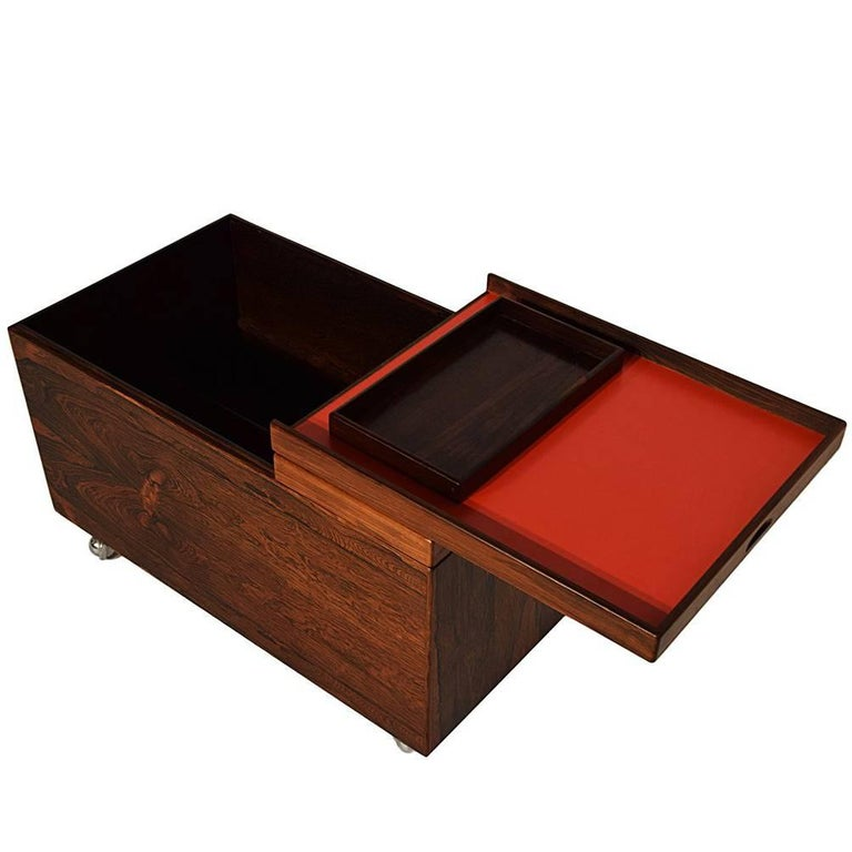 Danish Rosewood Dry Bar by Poul Nørreklit