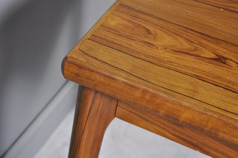 Danish Rosewood Extendable Dining Table by Henning Kjærnulf for Vejle,1960s For Sale 8