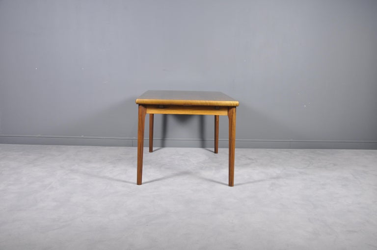 Scandinavian Modern Danish Rosewood Extendable Dining Table by Henning Kjærnulf for Vejle,1960s For Sale