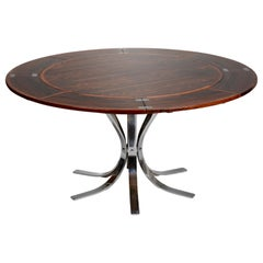 "Danish Rosewood ""Lotus Design"" Dining Table by Dyrlund"