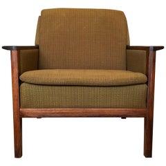 Danish Rosewood Lounge Chair, Midcentury, Hans Olsen