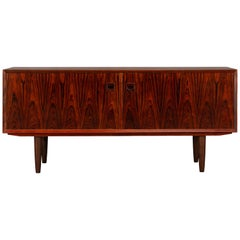 Danish Low Sideboard by E. Brouer for Brouer Møbelfabrik, 1960s